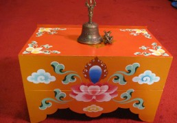 Collapsable Tibetan Buddhist Puja Table