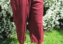 100% Natural Cotton 3/4 length Pants
