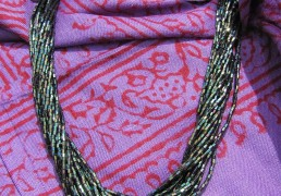 Thin Single-Colored Multi-Beaded Necklace
