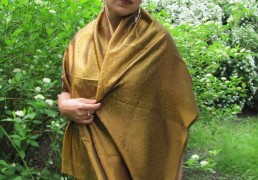 100% Natural Indian Silk Shawl