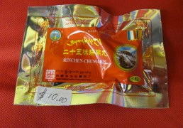 Rinchen Chumar 25 Traditional Tibetan Herbal Medicine