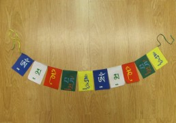 Mani Mantra Tibetan Prayer Flags