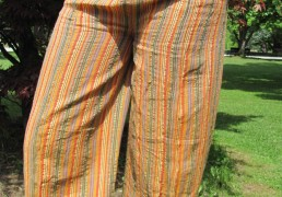 100% Natural Woven Cotton Multi-Colored Pants