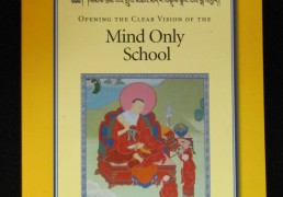 """""""Opening the Clear Vision of the Mind Only School"""" by Khenchen Palden Sherab Rinpoche and Khenpo Tsewang Dongyal Rinpoche"""