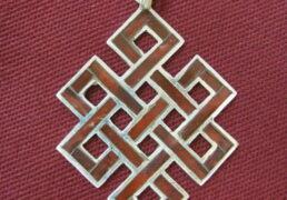 Tibetan Eternal Knot Pendant