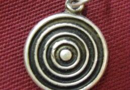 Silver Bindu Pendant