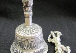 Silver Tibetan Bell & Dorje