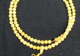 Tibetan Amber Mala