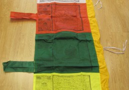Large Vertical Prayer Flag