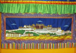 Extra Large Potala Palace Embroidered Wall Hanging