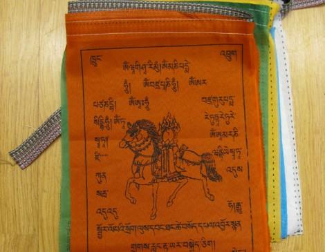 Cotton Tibetan Prayer Flags