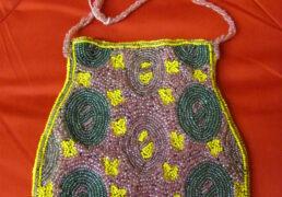 Hand-Beaded Bag