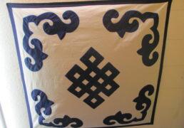 Eternal Knot Tibetan Wall Hanging