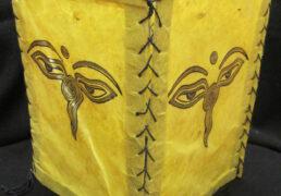 Buddha Wisdom Eyes Tibetan Rice Paper Lantern