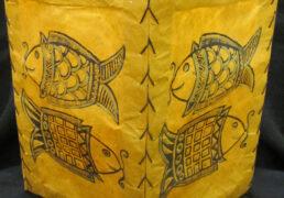 Smiling Fish Tibetan Rice Paper Lantern