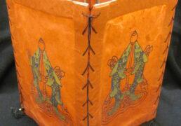 Auspicious Fish Tibetan Rice Paper Lantern