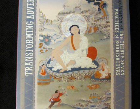 TRANSFORMING ADVERSITY INTO JOY AND COURAGE: An Explanation of the Thirty-seven Practices of Bodhisattvas by Geshe Jampa Tegchok, edited by Thubten Chodron