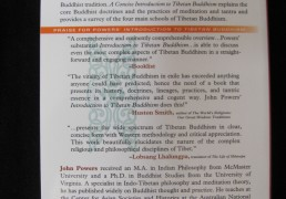A CONCISE INTRODUCTION TO TIBETAN BUDDHISM by John Powers