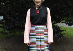 Black Sleeveless Tibetan Khampa Chuba