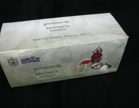 Sorig Herbal Tea: Raab Ga Yangzin