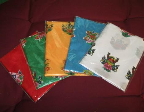 Colored Khatags