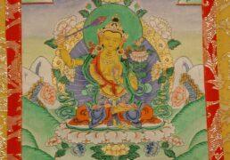 Manjushri tangkha